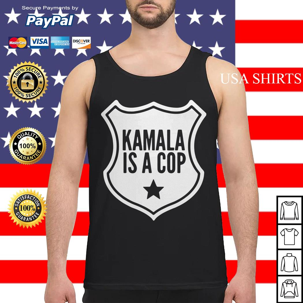 Harris Kamala is a cop Tank top