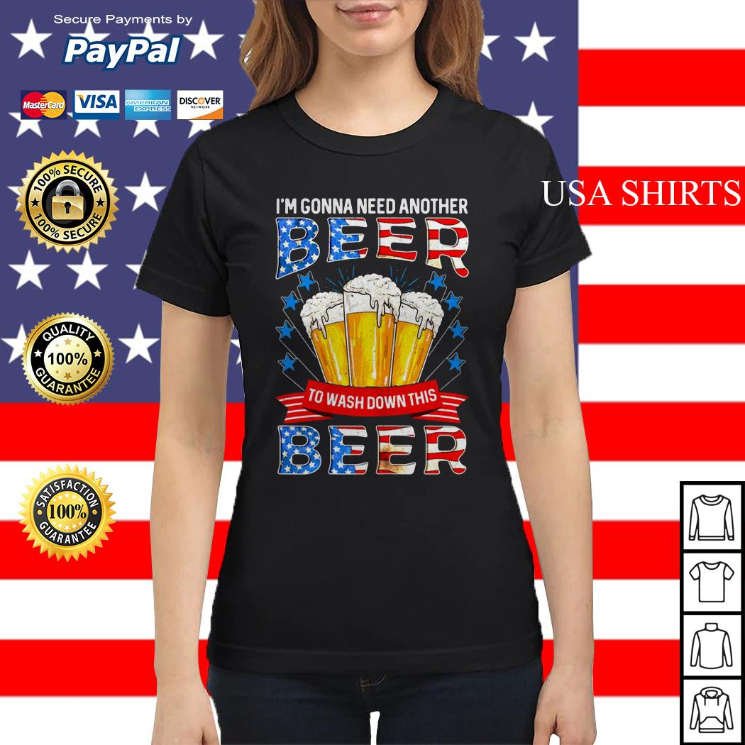 I'm gonna need another beer to wash down this beer Ladies tee