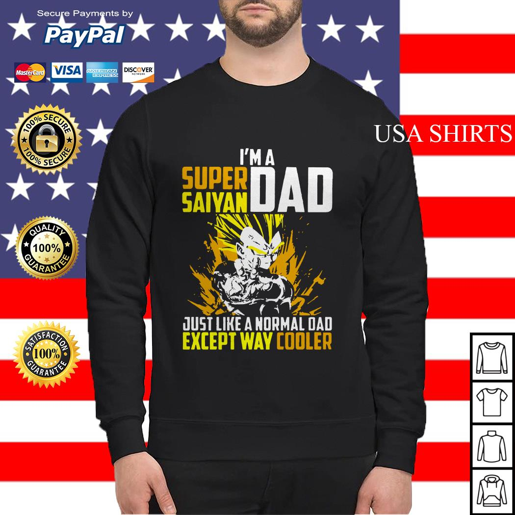 6054c2c5a I'm a super saiyan dad just like a normal dad except way cooler Sweater