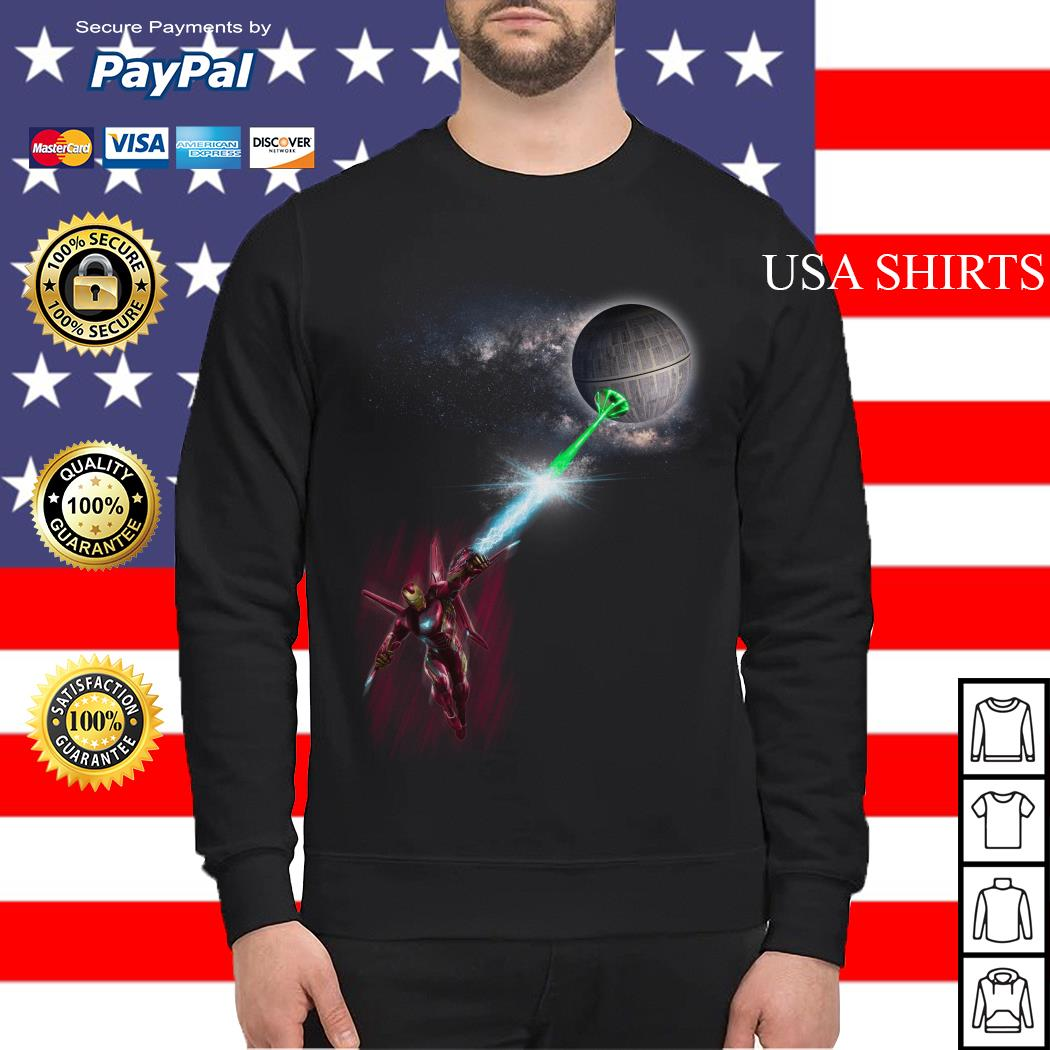 Iron Man and Death Star Sweater