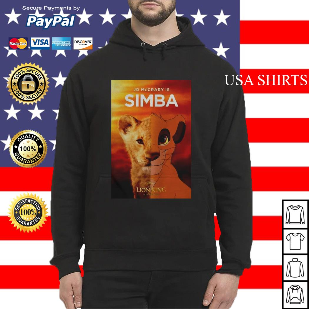 Jd McCrary is Simba The Lion King Hoodie