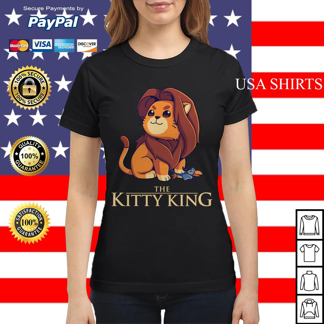 The Kitty King Lion Cub Simba Ladies tee