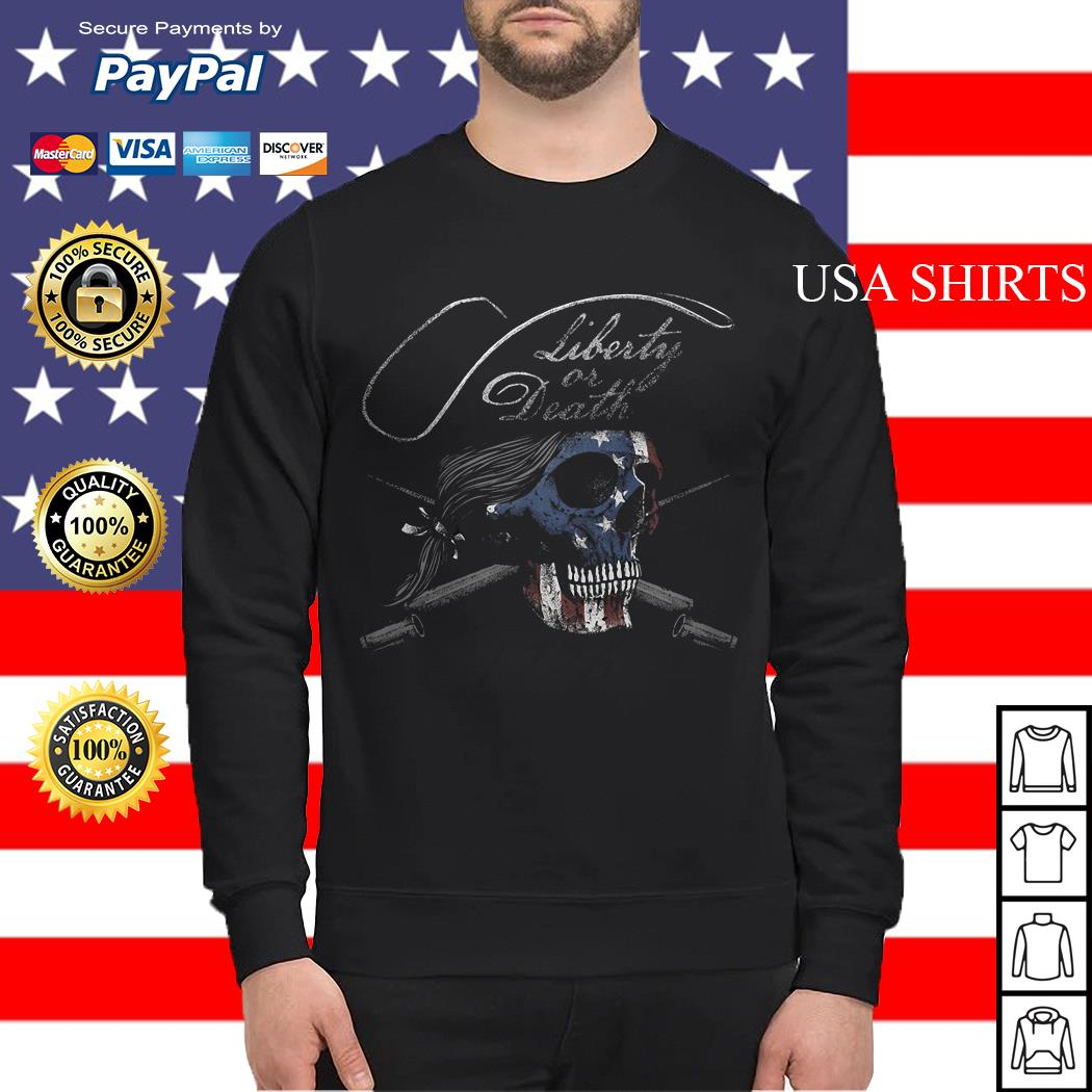 Liberty or Death 1776 Sweater