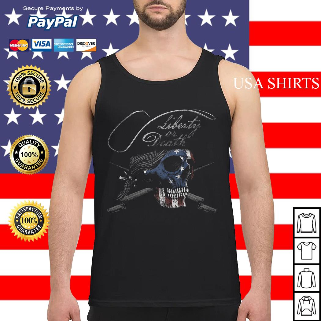 Liberty or Death 1776 Tank top