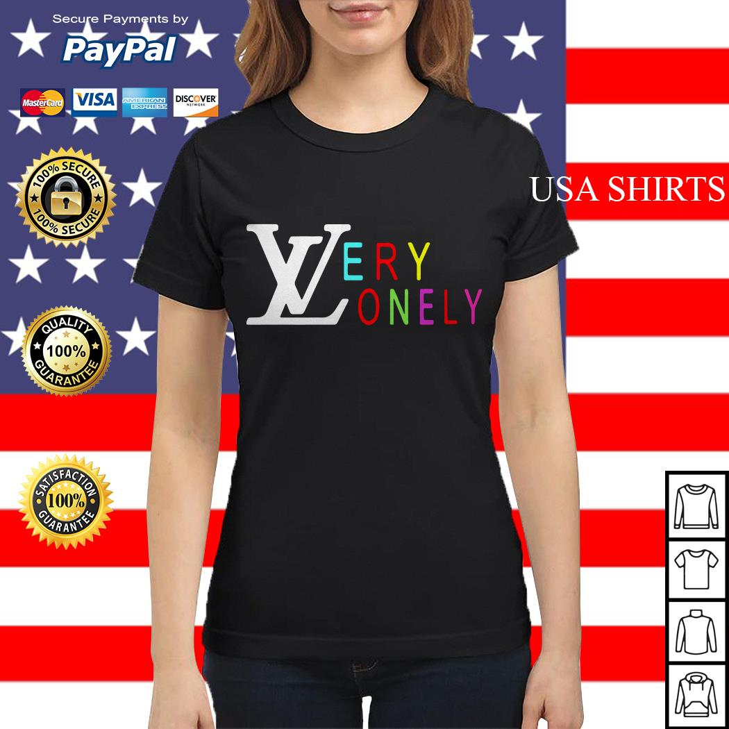 Louis Vuitton Very Lonely Ladies tee