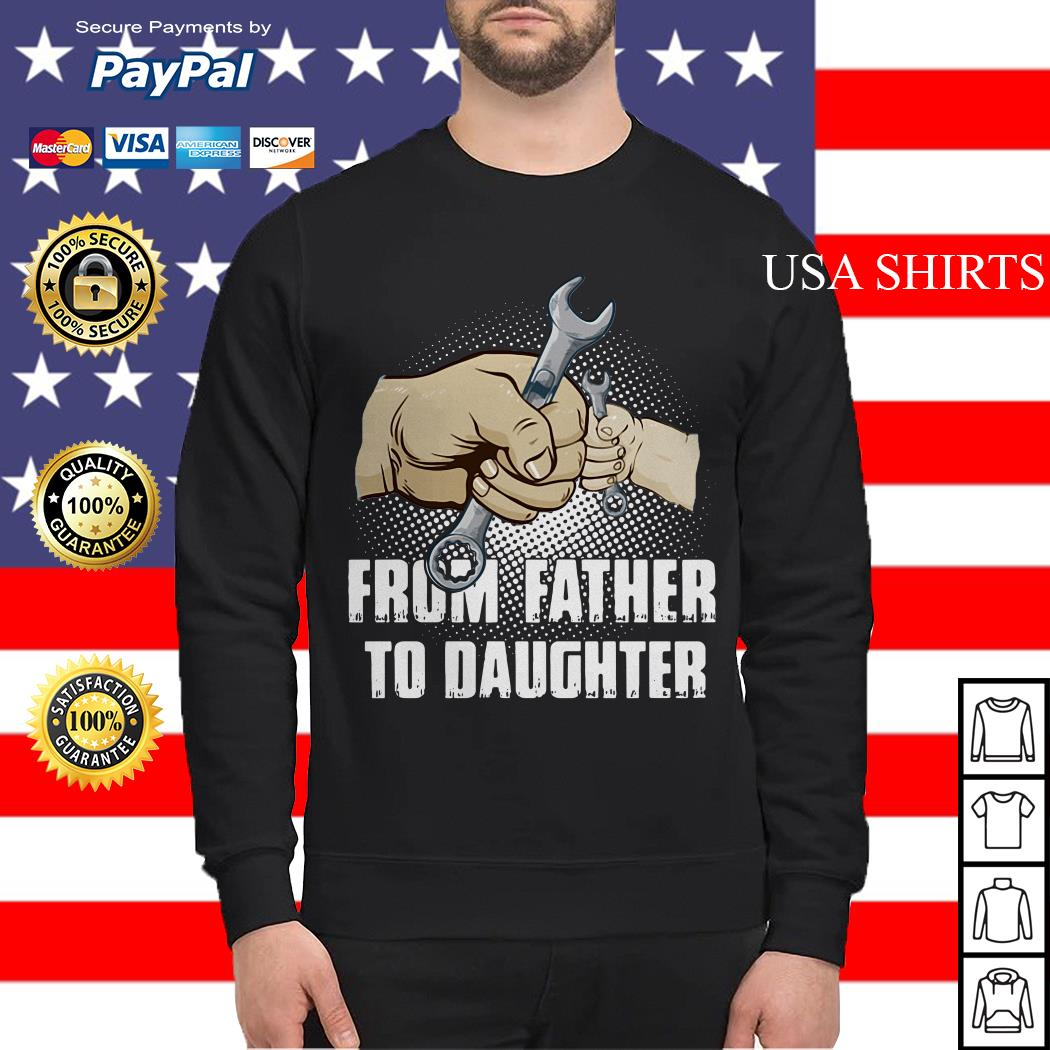 Mechanic from Father to Daughter sweater