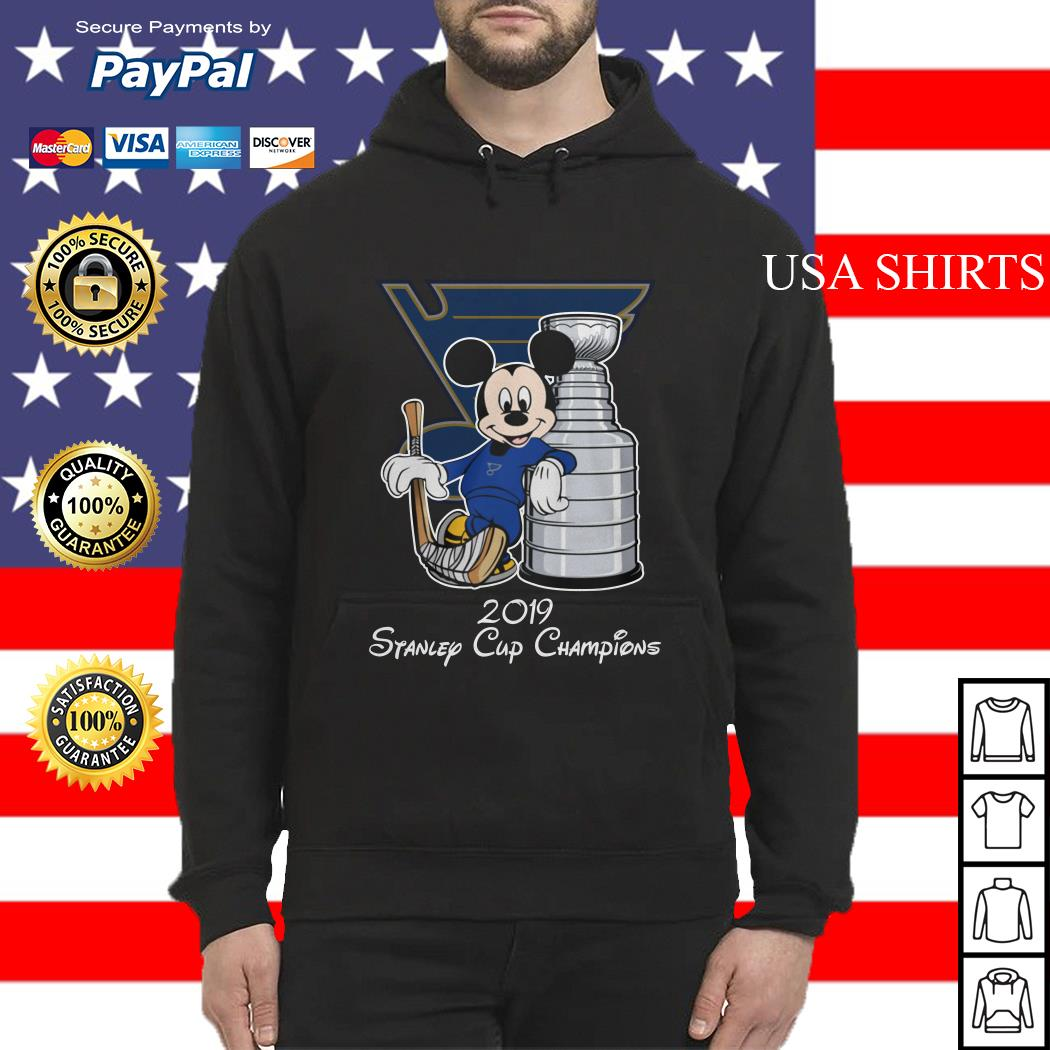 Mickey mouse 2019 Stanley cup champions Hoodie