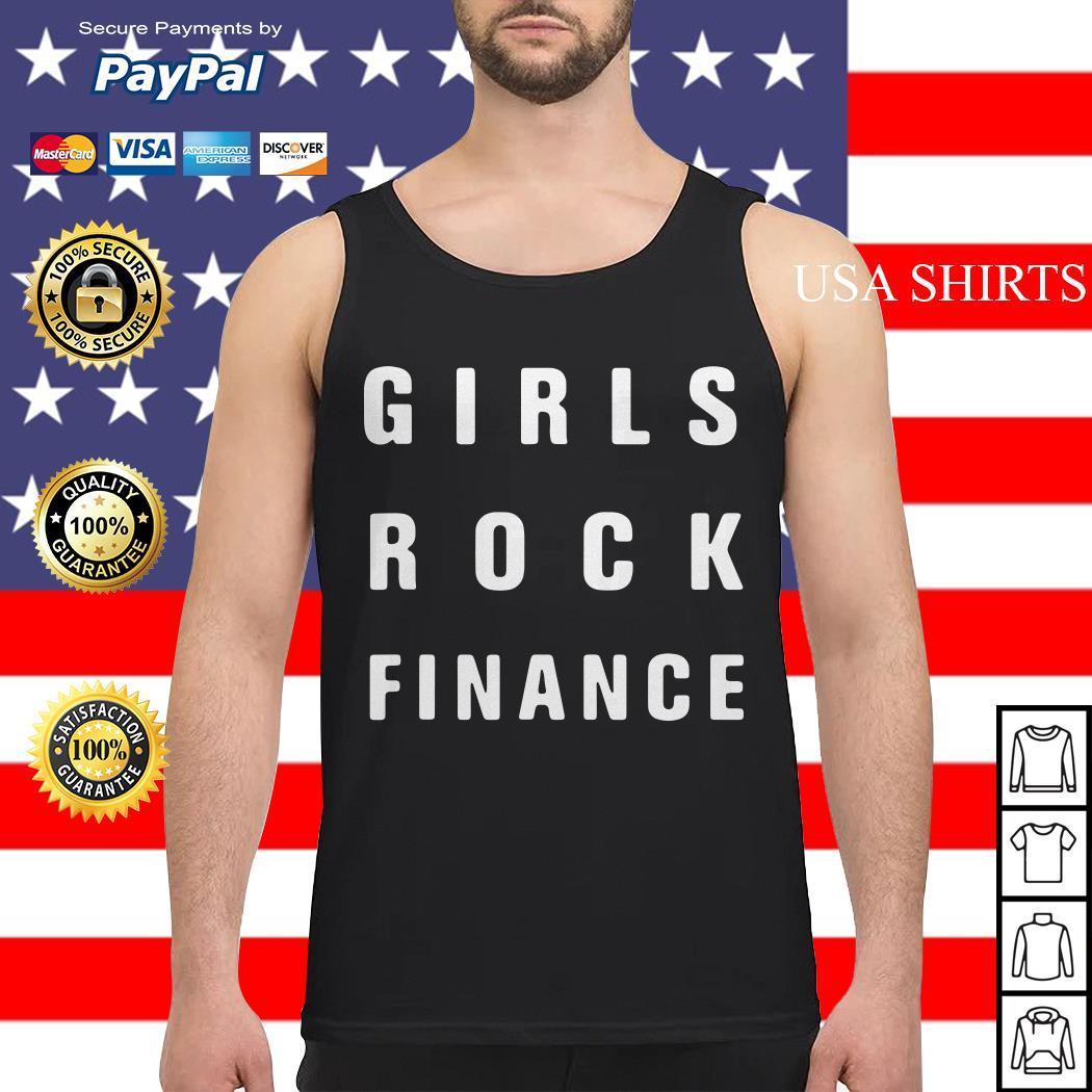 Official Girls rock finance Tank top