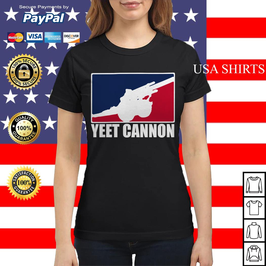 Official Yeet cannon Ladies tee