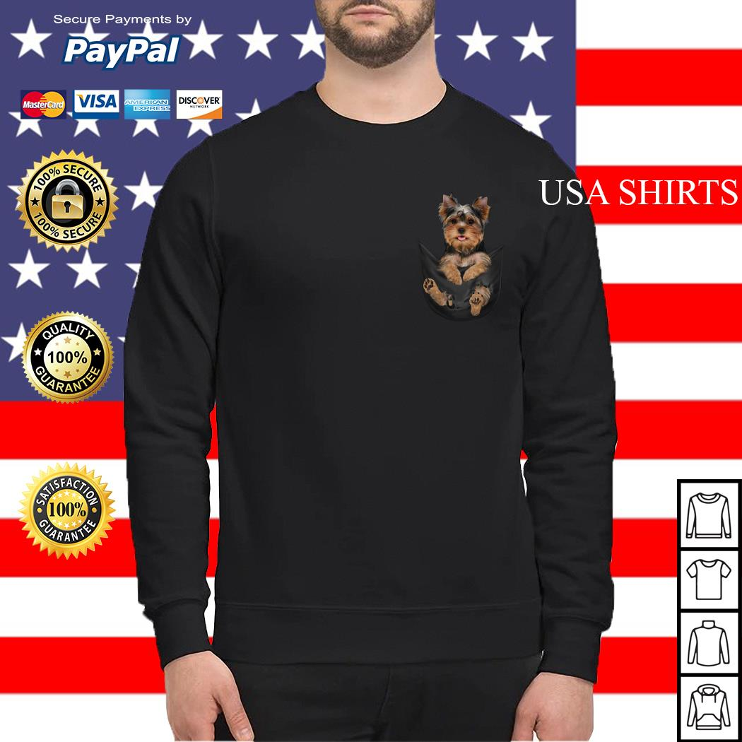 Official Yorkshire Terrier in your pocket Sweater
