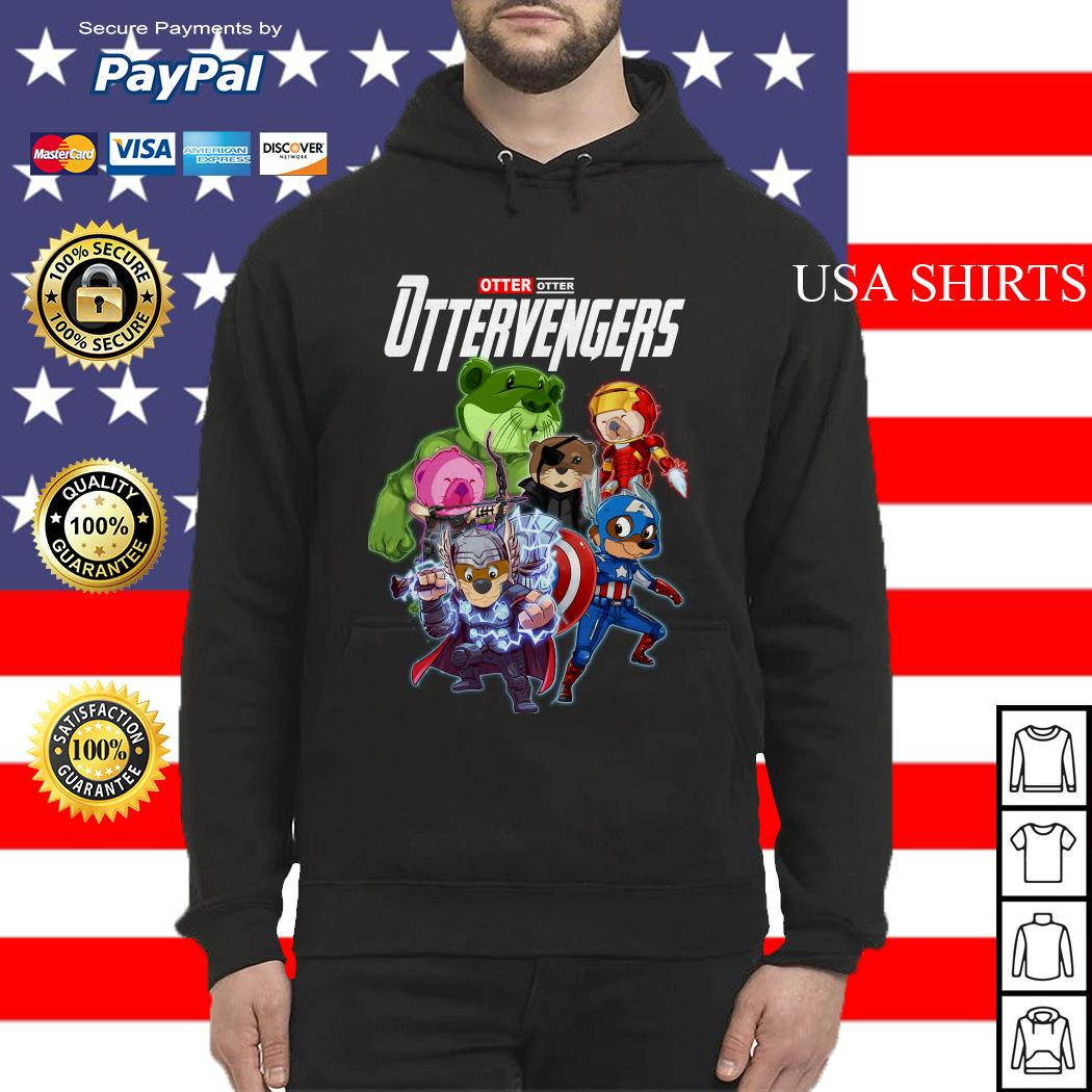 Otter Otter Ottervengers Avengers Endgame Hoodie
