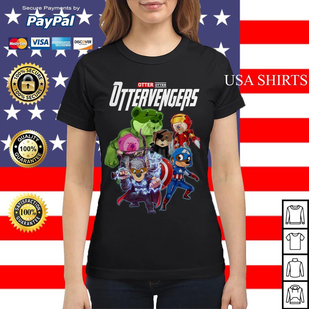 Otter Otter Ottervengers Avengers Endgame Ladies tee