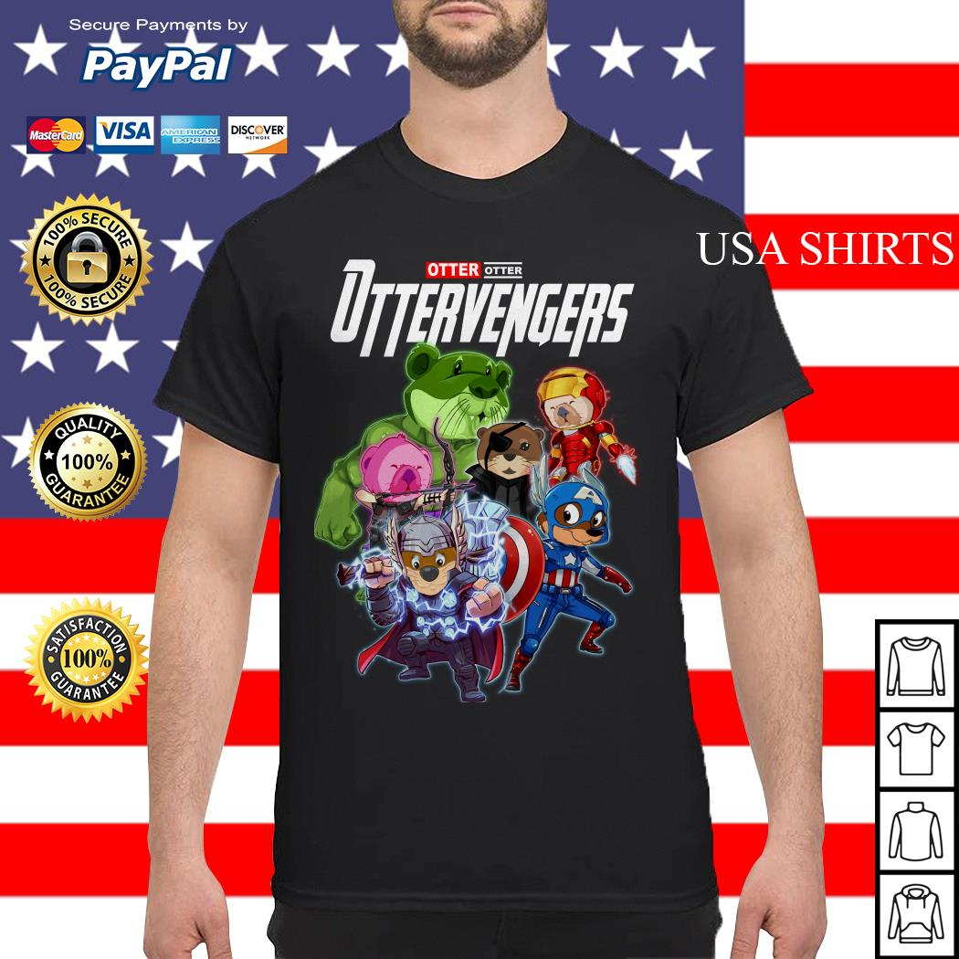Otter Otter Ottervengers Avengers Endgame shirt