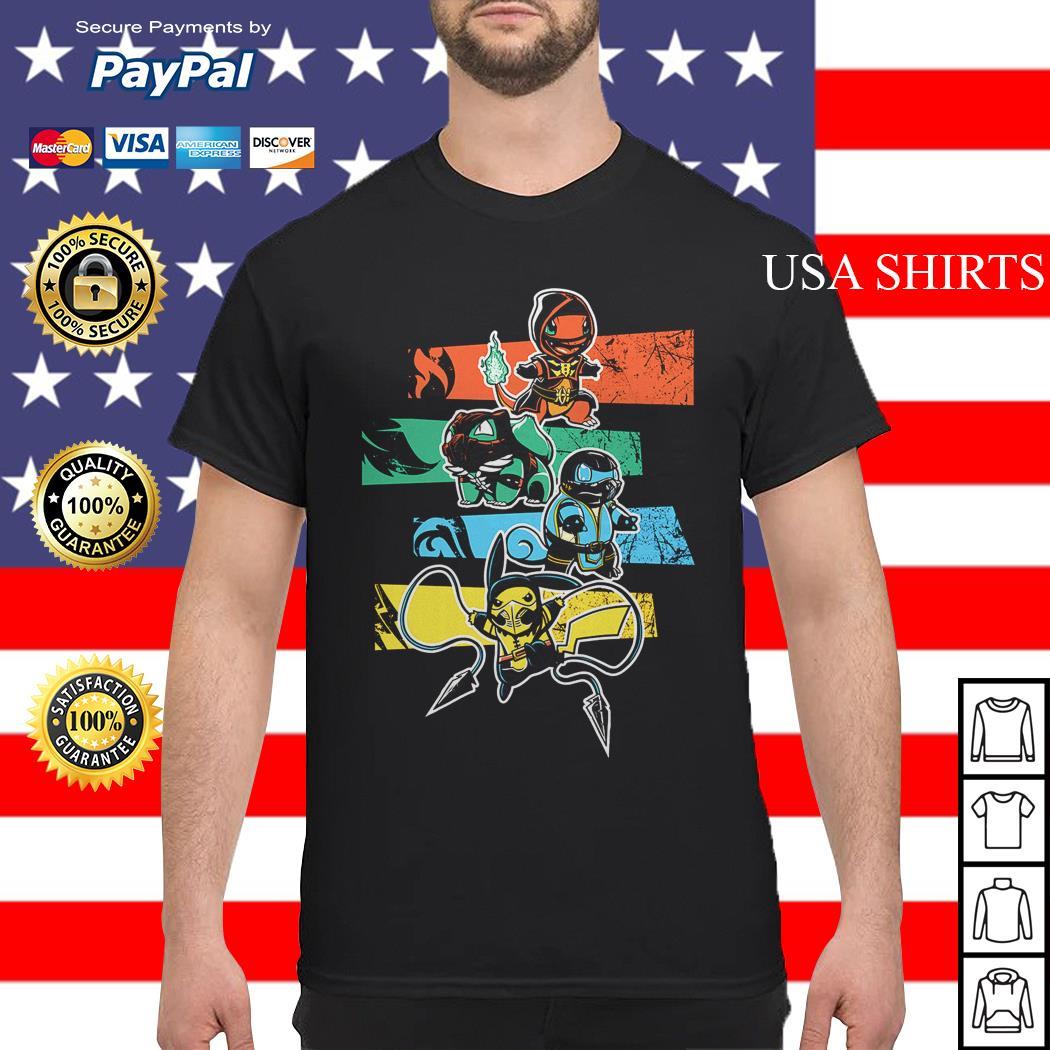 Pokemon style Mortal Kombat shirt
