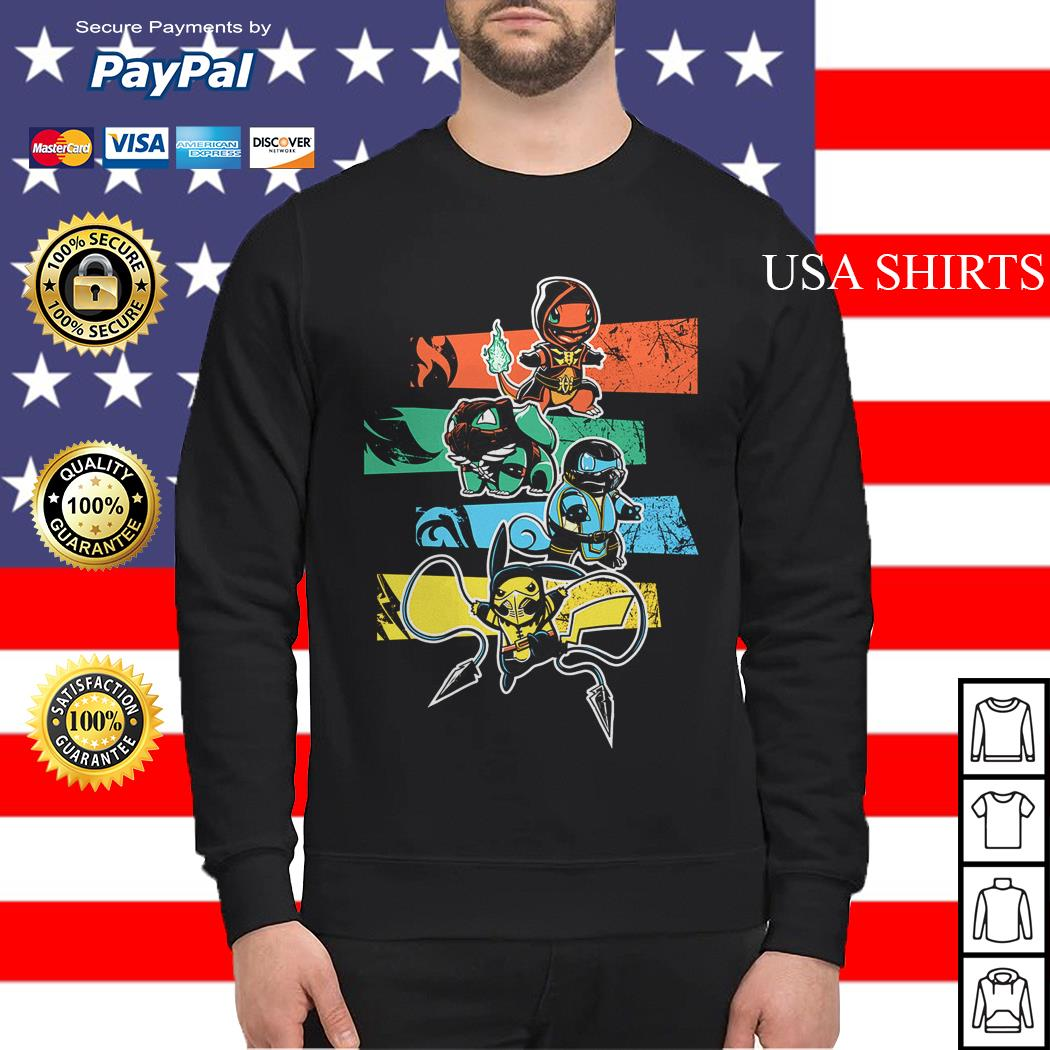 Pokemon style Mortal Kombat Sweater