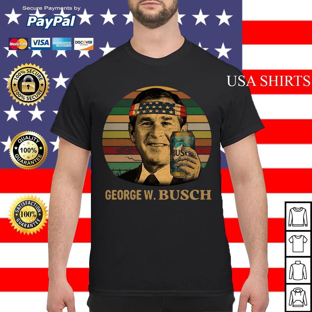 President George W Bush America vintage shirt