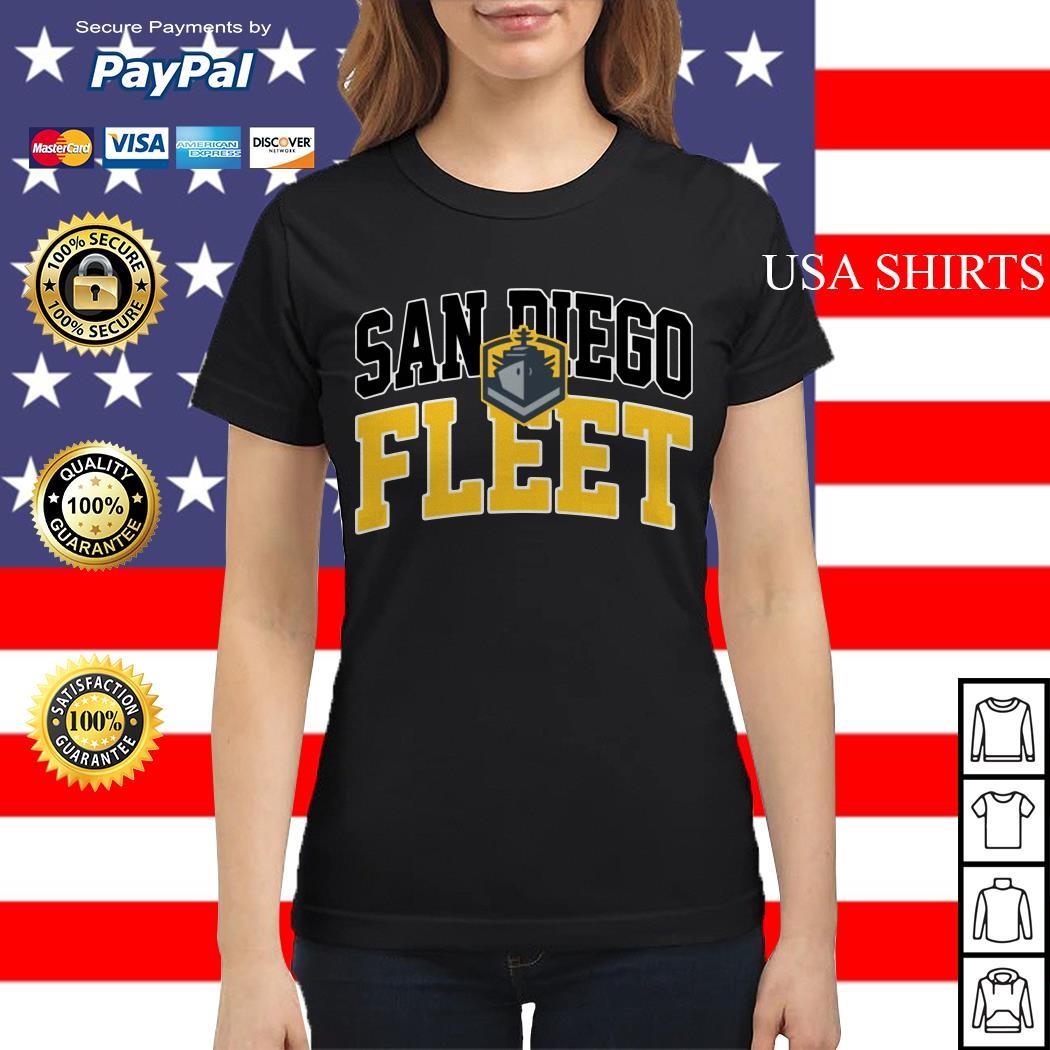 San Diego Fleet Ladies tee