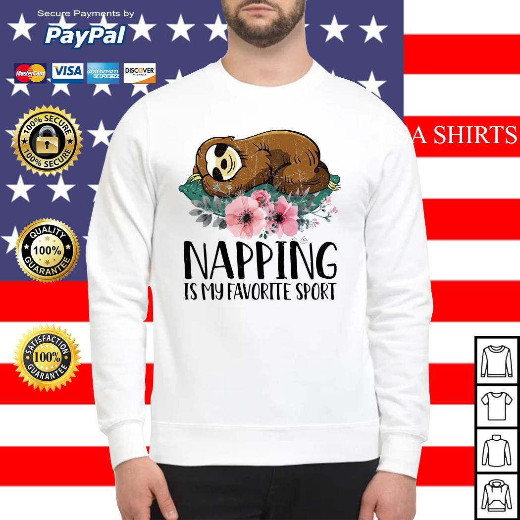 Sloth Napping is my favorite sport Sweater