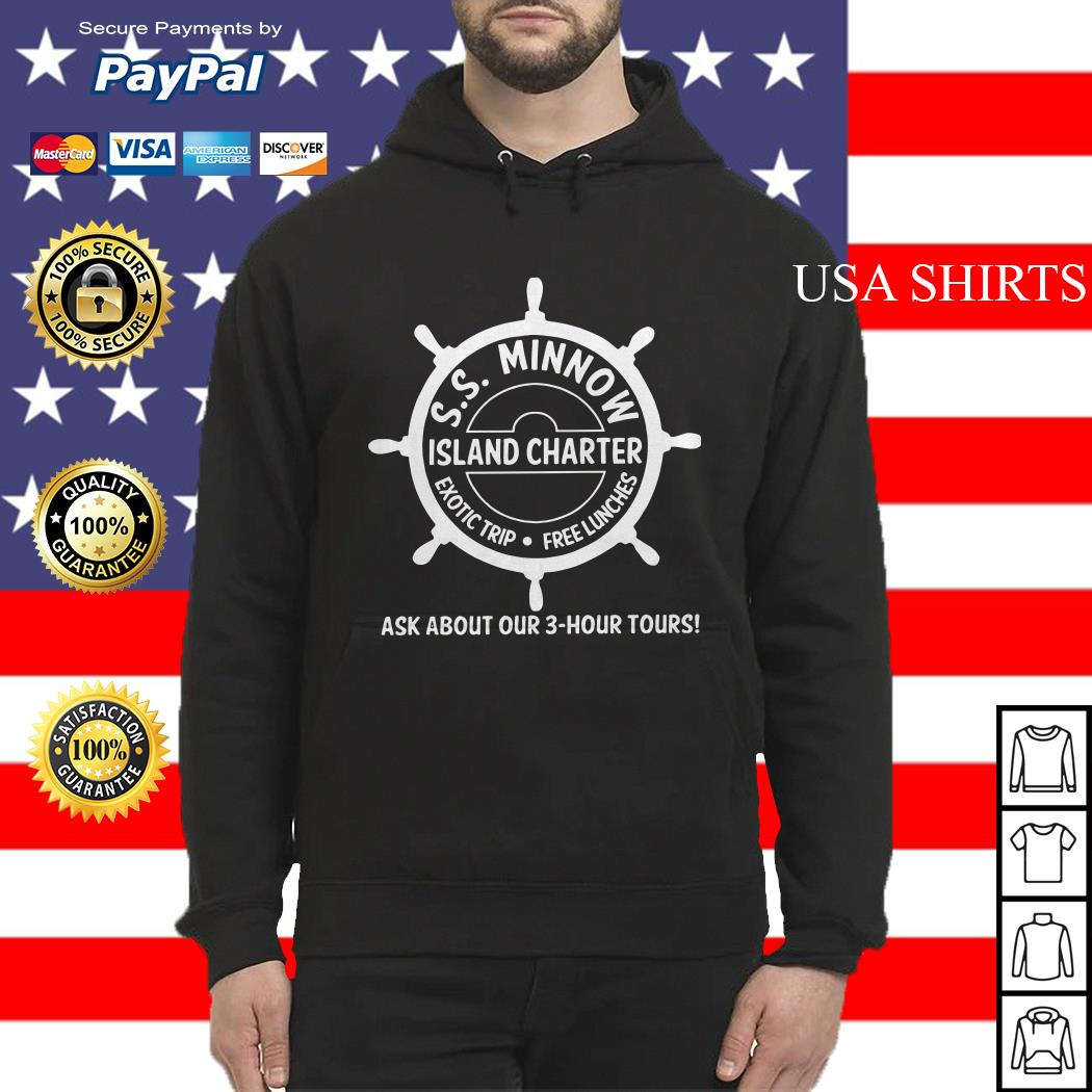 SS minnow island charter exotic trip free lunches ask about our 3 hour tours Hoodie