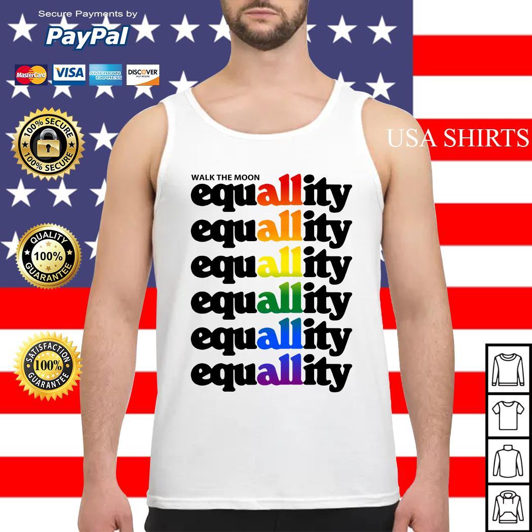 Walk the moon equality LGBT Tank top