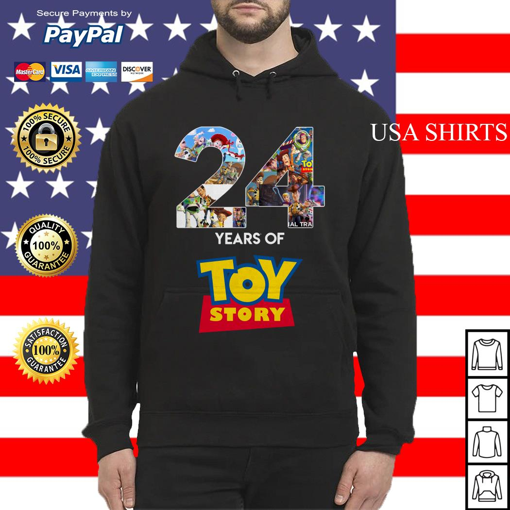 24 Years Of Toy Story Hoodie