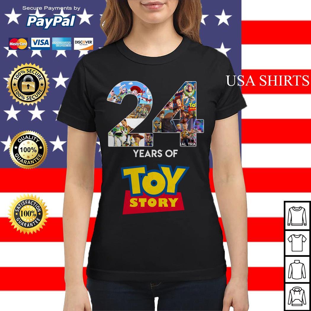 24 Years Of Toy Story Ladies tee