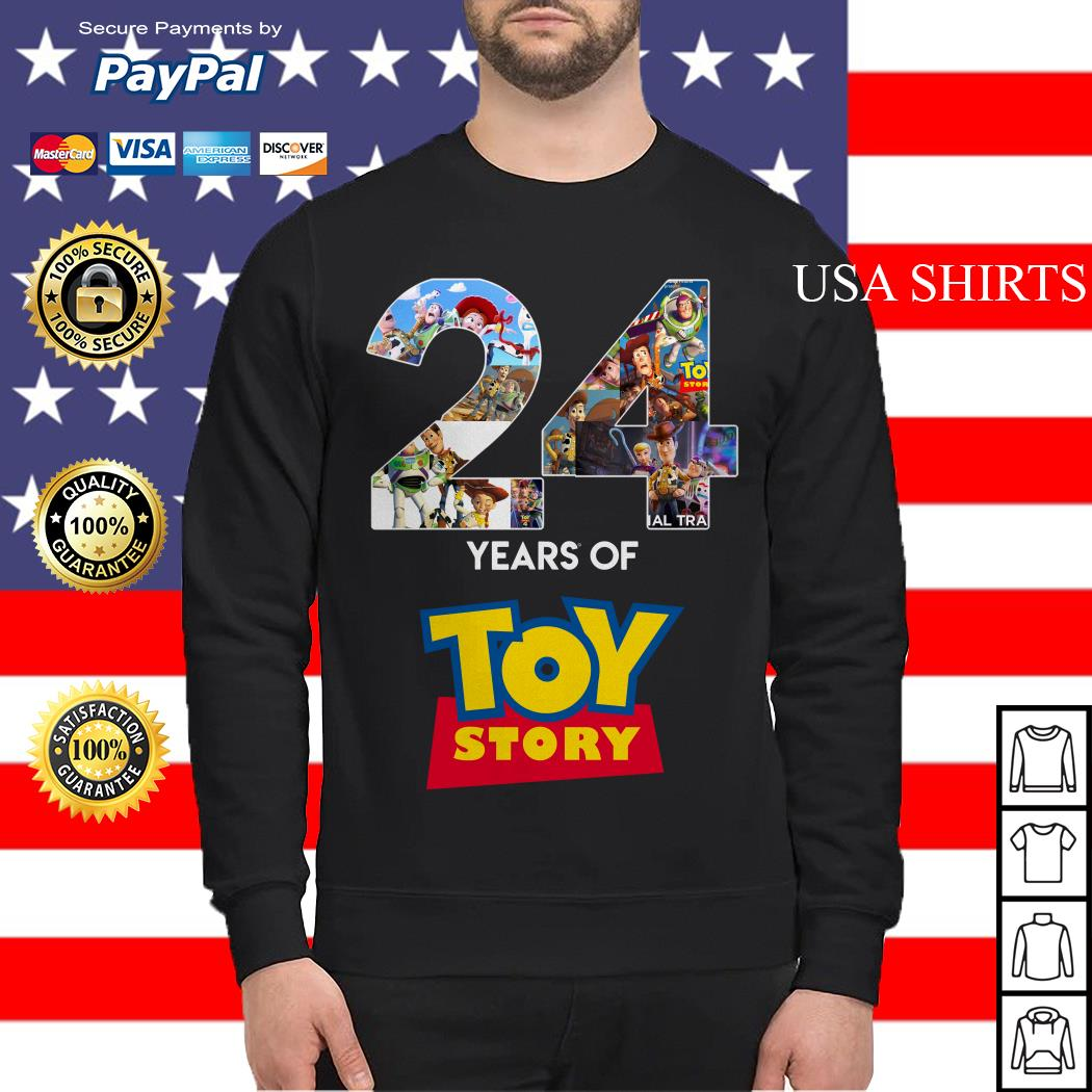 24 Years Of Toy Story Sweater
