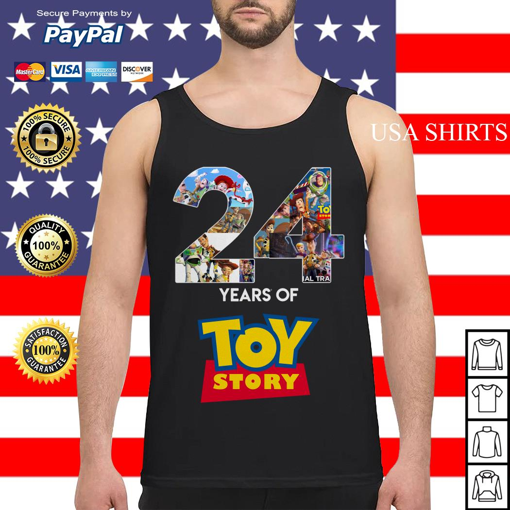 24 Years Of Toy Story Tank top