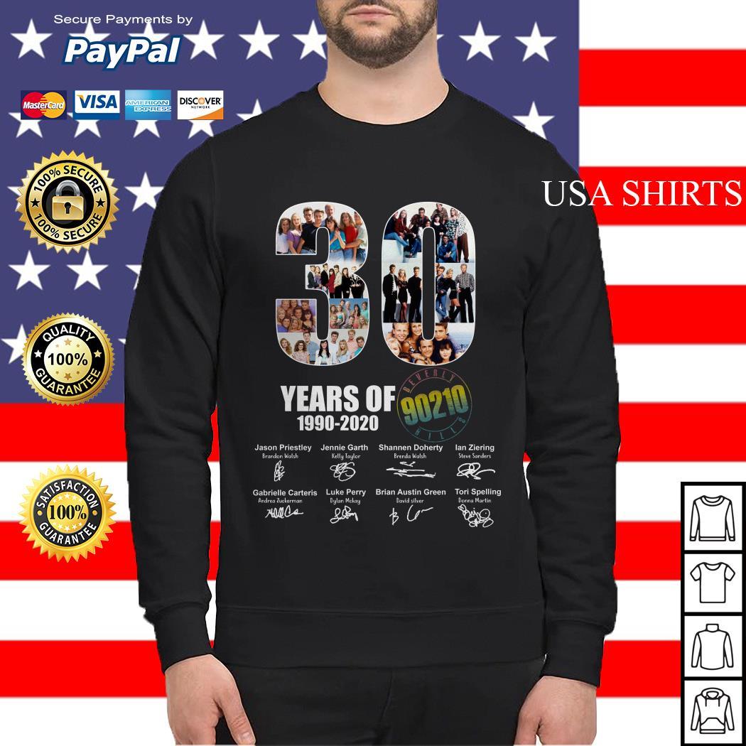 30 Years of 1990 2020 90210 signature Sweater