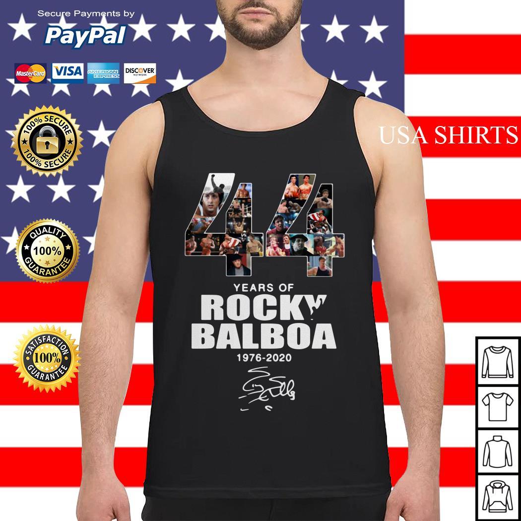 44 years of Rocky Balboa 1976 2020 signature Tank top