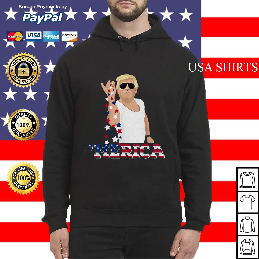 4th of July Trump salt America Hoodie
