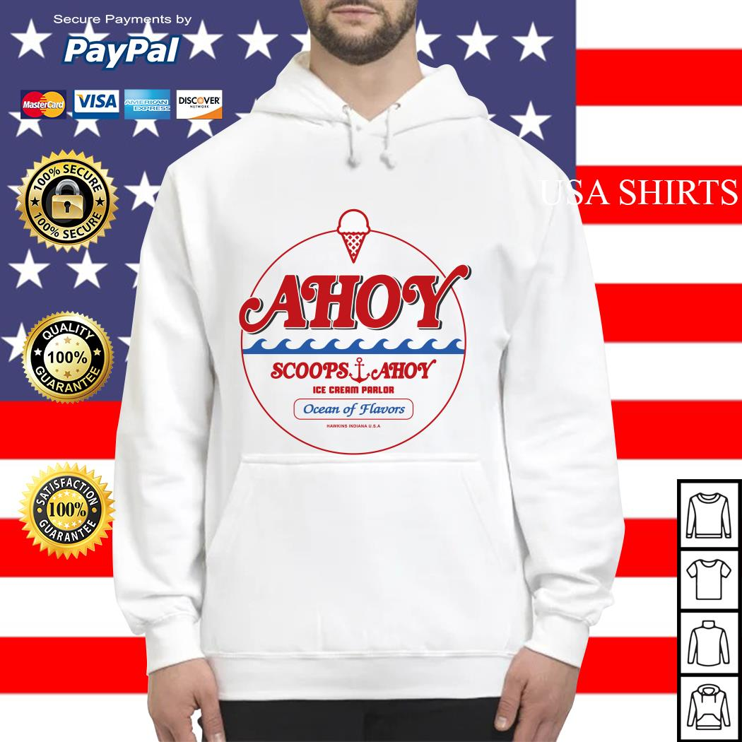 Ahoy scoops ahoy ice cream parlor Ocean of Flavors Hoodie