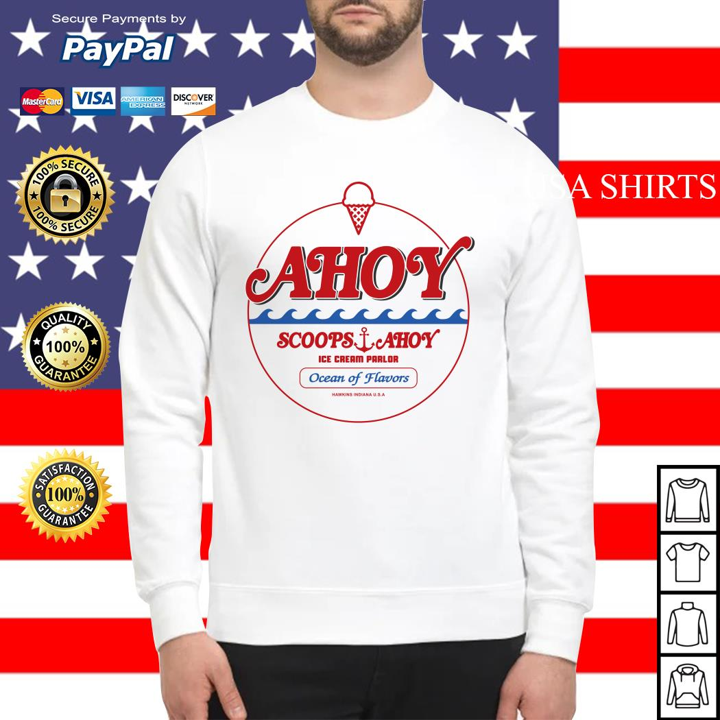 Ahoy scoops ahoy ice cream parlor Ocean of Flavors Sweater