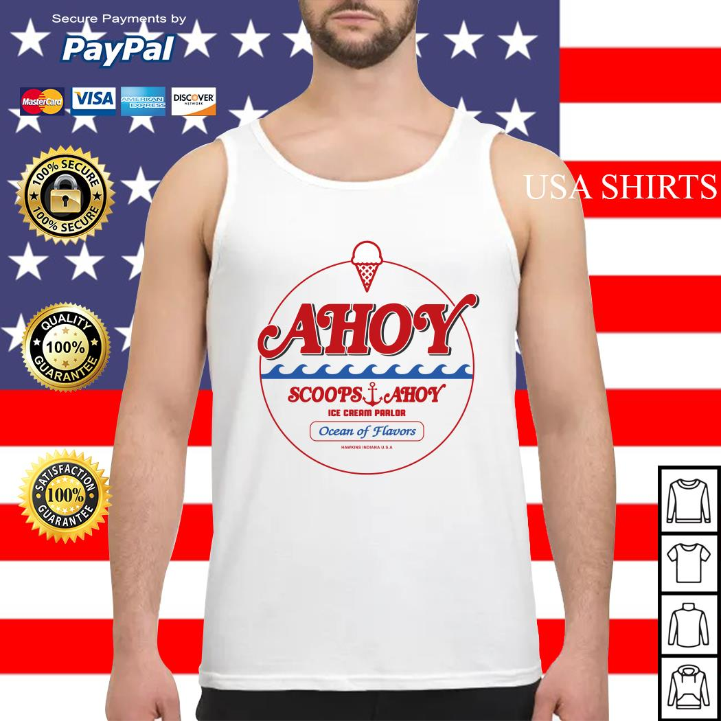 Ahoy scoops ahoy ice cream parlor Ocean of Flavors Tank top