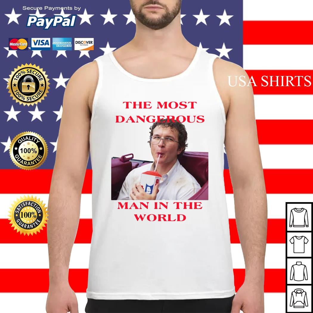 Alexei the most man in the world Stranger Things Tank top