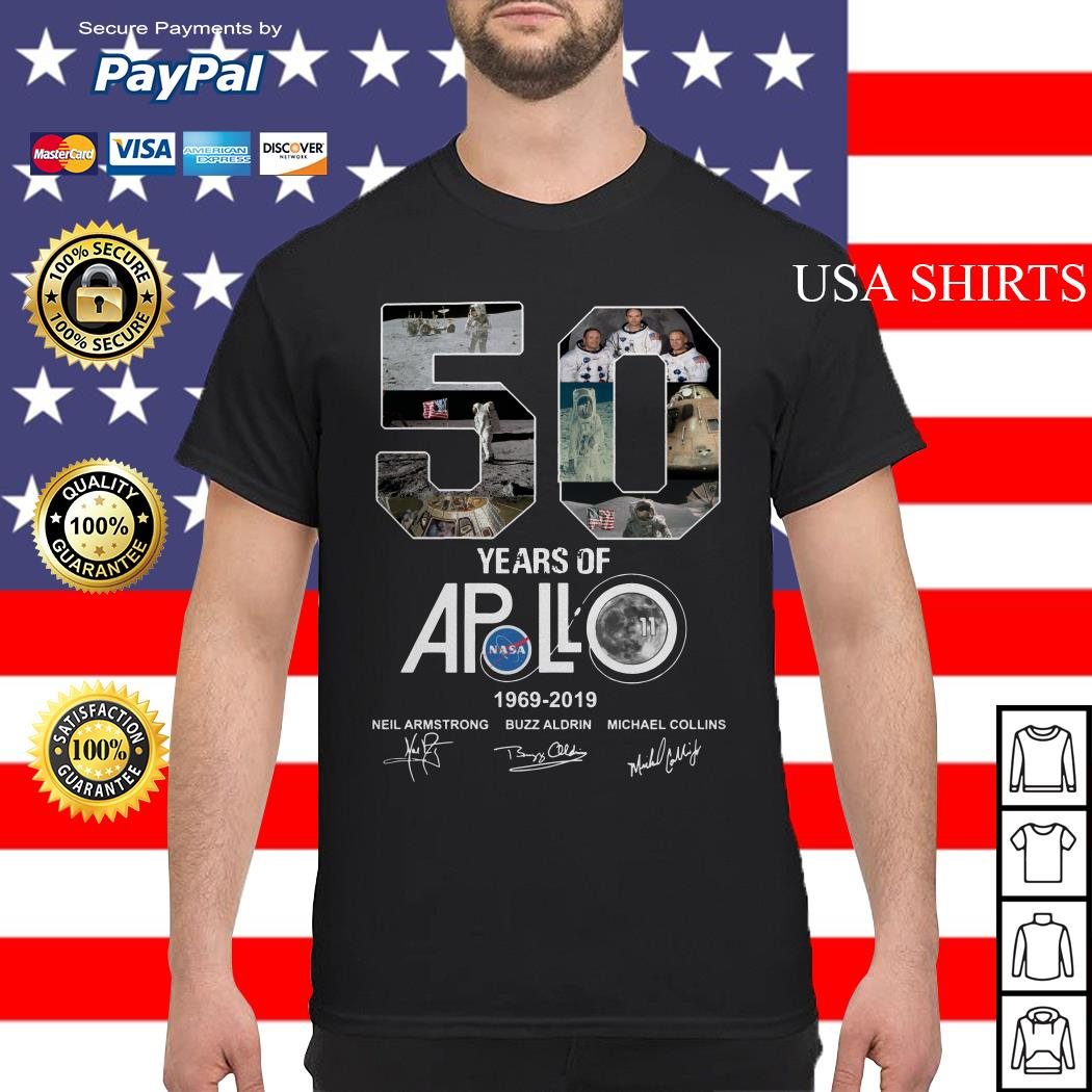 Apollo 50th Anniversary 1969 2019 shirt