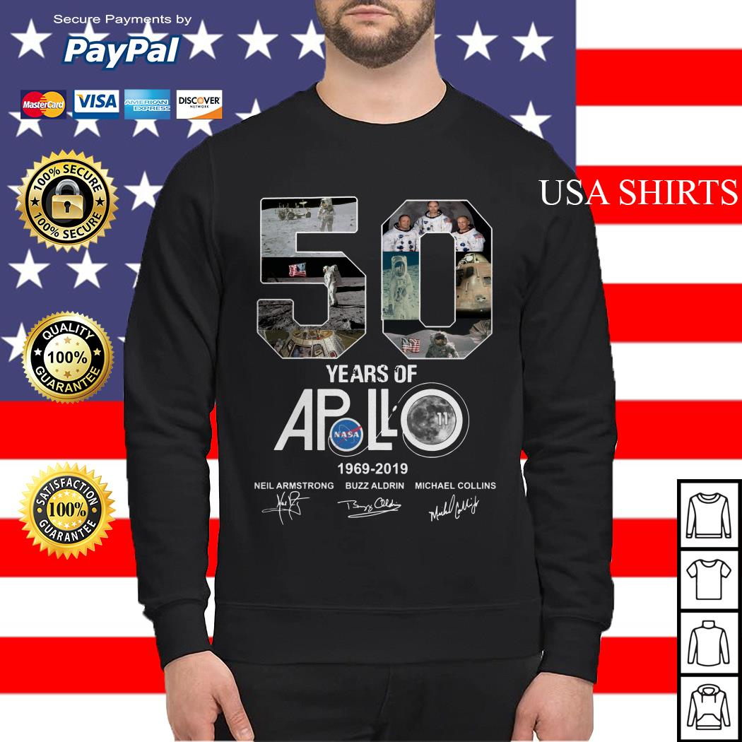 Apollo 50th Anniversary 1969 2019 Sweater