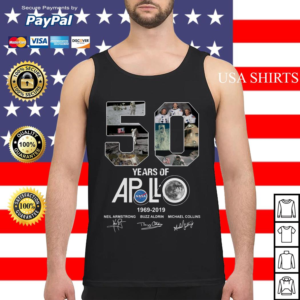 Apollo 50th Anniversary 1969 2019 Tank top