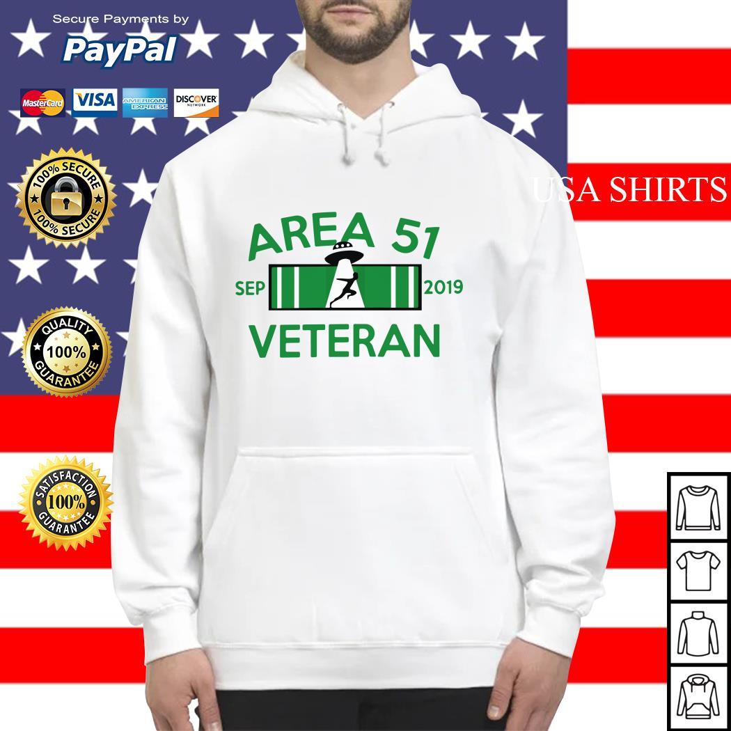 Area 51 Veteran Sep 2019 UFO Hoodie