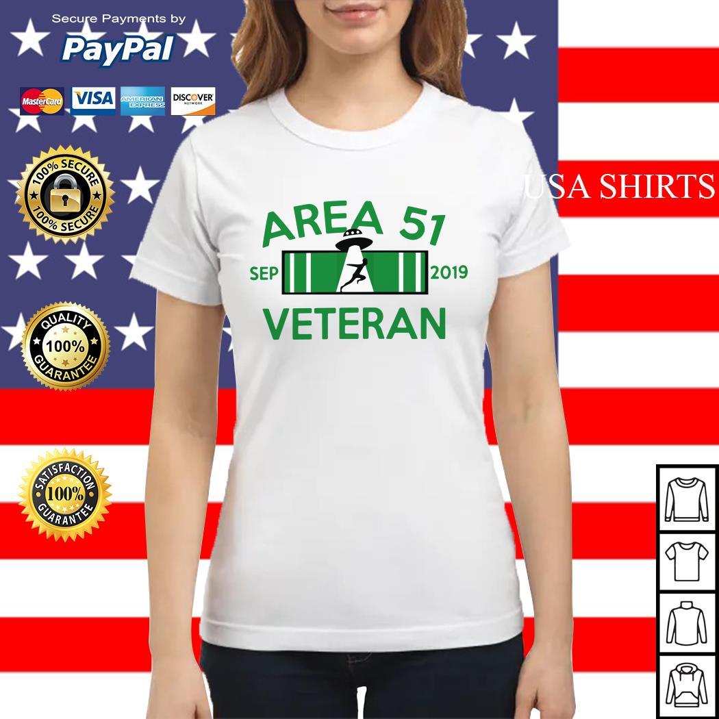 Area 51 Veteran Sep 2019 UFO Ladies tee