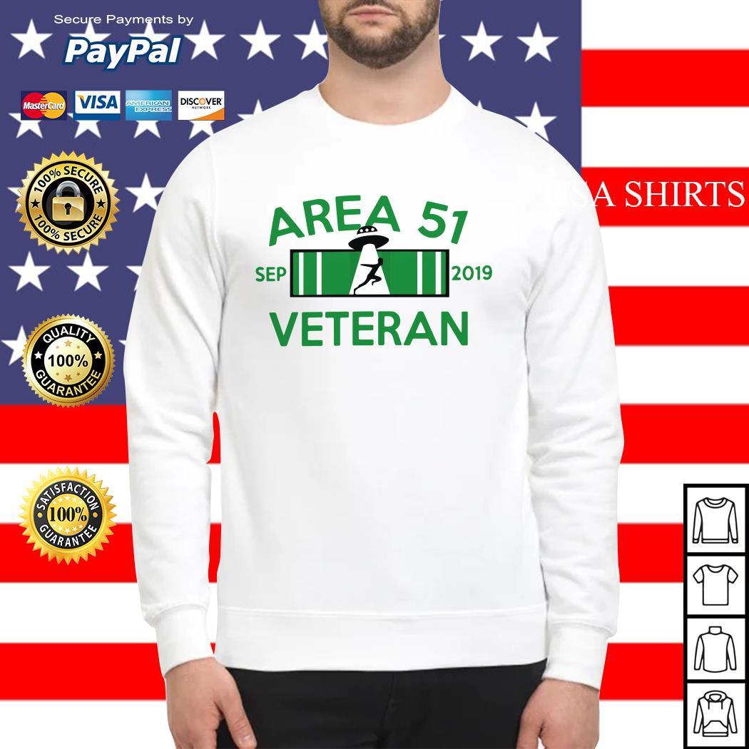 Area 51 Veteran Sep 2019 UFO Sweater