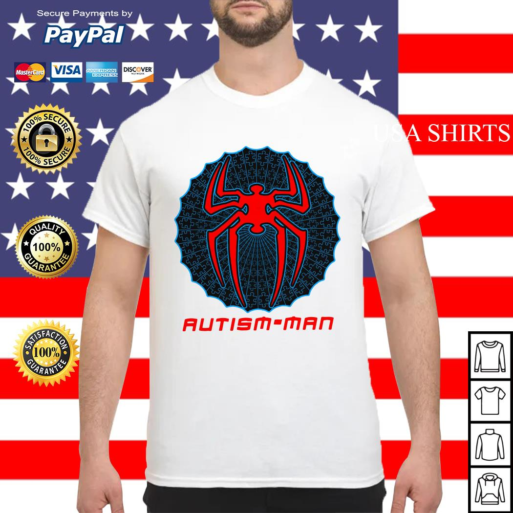 Autism man Spider man shirt