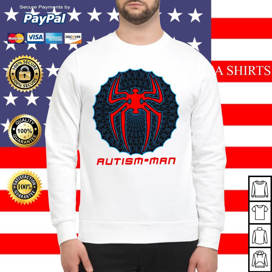 Autism man Spider man Sweater