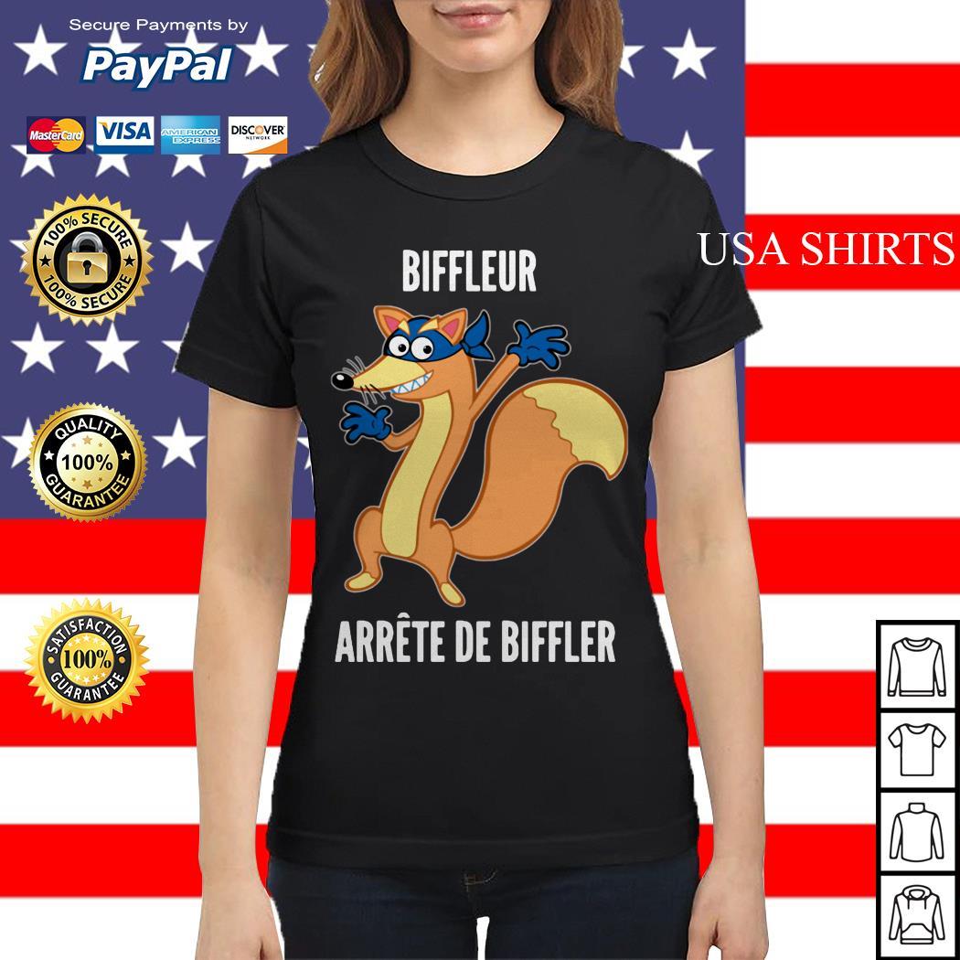 Biffleur arrete de biffler Ladies tee