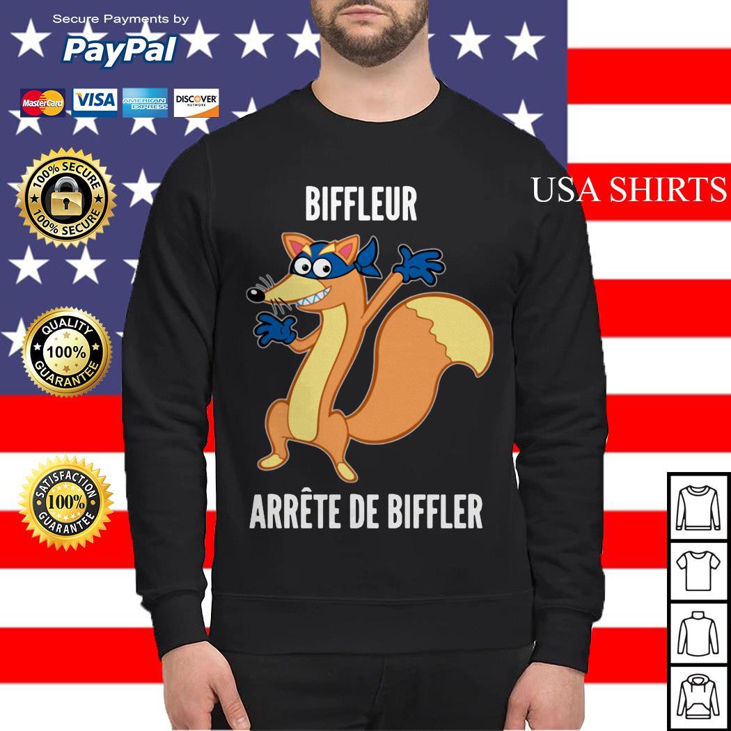 Biffleur arrete de biffler Sweater