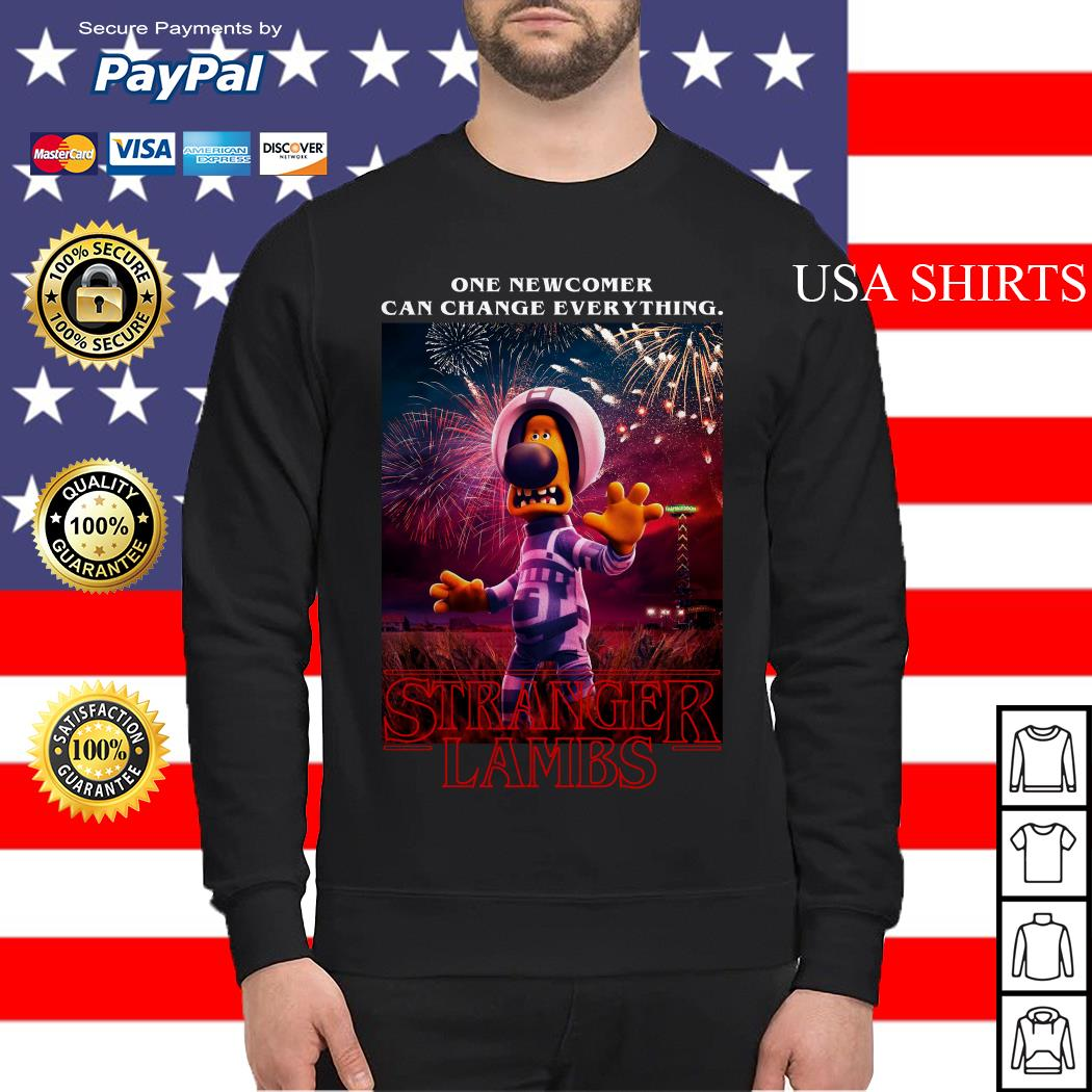 Bitzer One newcomer can change everything Stranger Lambs Stranger Things Sweater