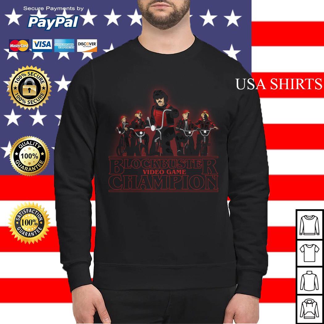 Blockbuster video game champion Stranger Things Sweater