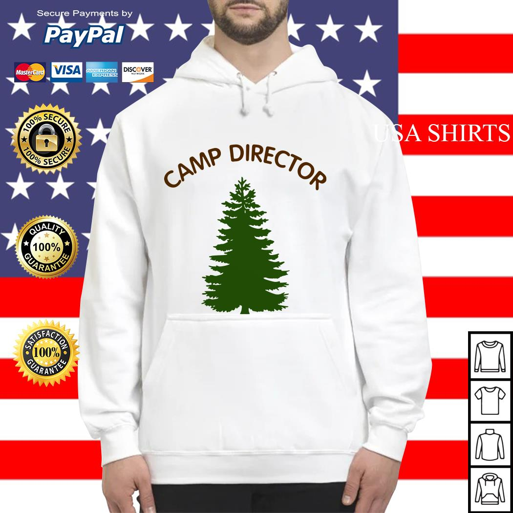 Camp director tree Hoodie