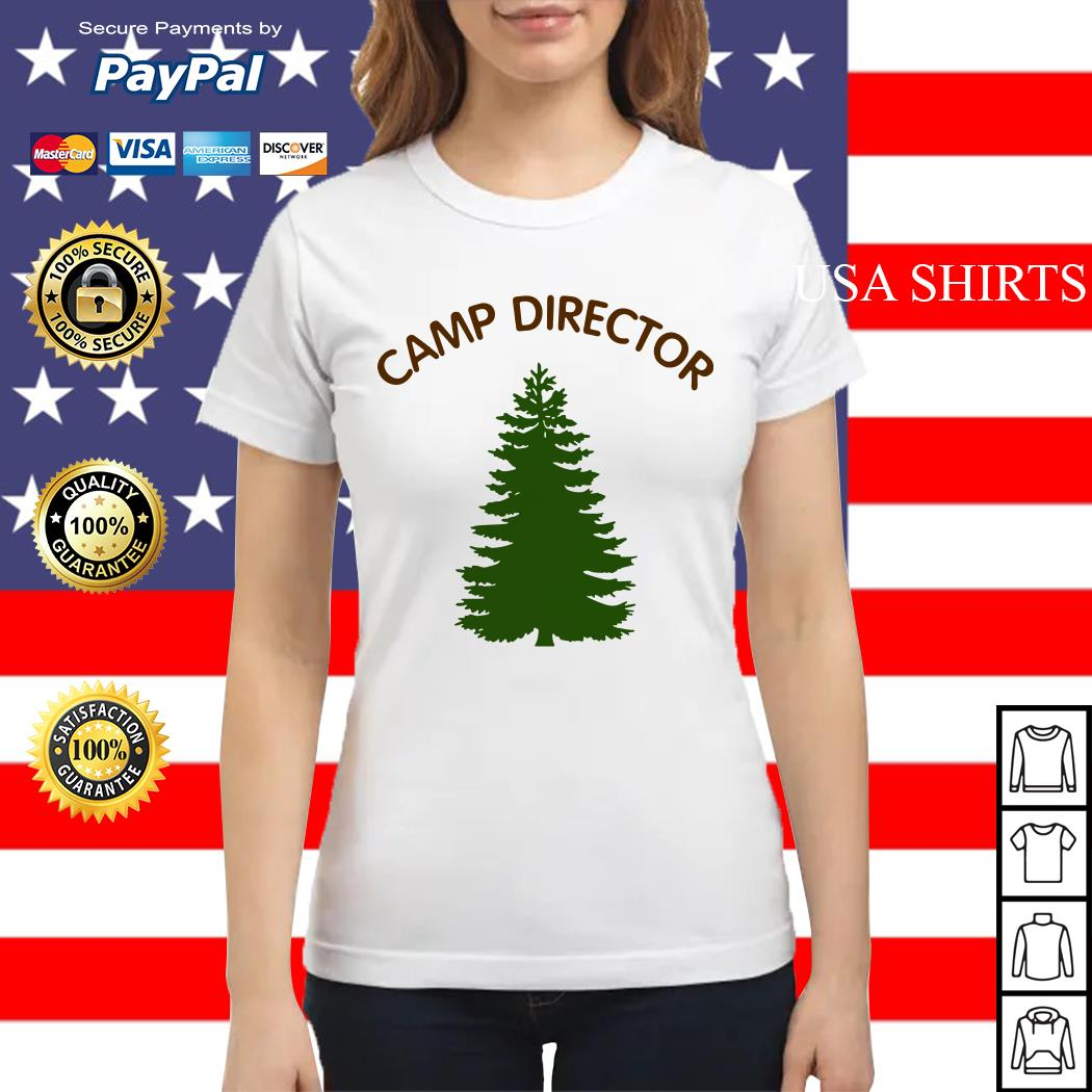 Camp director tree Ladies tee