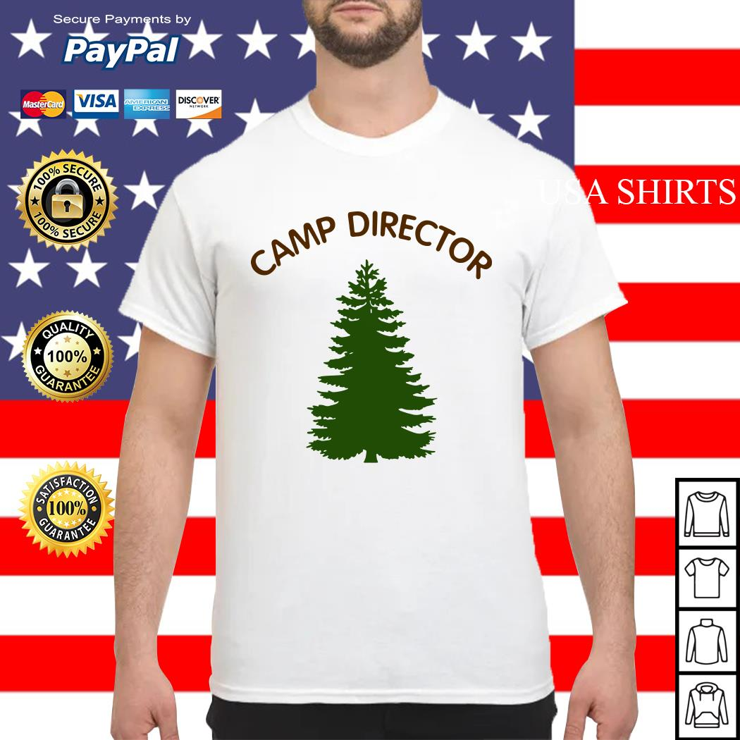 Camp director tree shirt